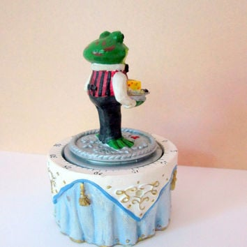 Kitchen Minute Timer Frog by Boston Warehouse Vintage