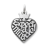 """""""Expect-A-Miracle"""" Charm: James Avery"""