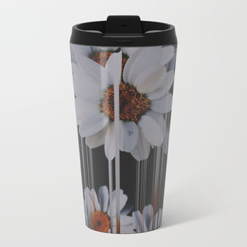 A little pretty, A little Messed up Metal Travel Mug by duckyb