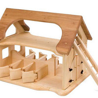 Sam's Wooden Play Stable