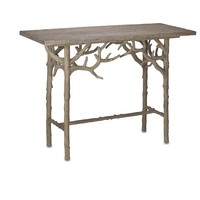 Currey And Company Hayhurst Console Table - Currey-co-3076 | Candelabra, Inc.