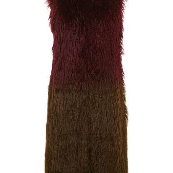 Ombre Faux-Fur Gillet - Sale & Offers