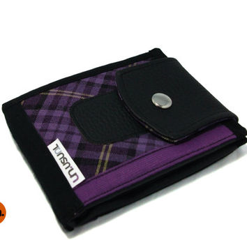 Vegan Wallet, Bifold Wallet, Cool Wallet, for Men, for Women, with Card Holder, Coin Pocket UNUSUAL - Handmade Custom Order