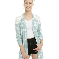 Disney The Little Mermaid Raglan Flyaway Cardigan