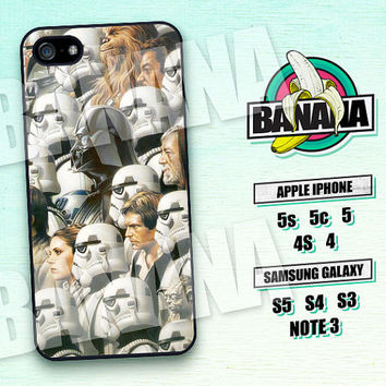 Star Wars, Stormtrooper, Han Solo, iPhone 5 case, iPhone 5C Case, iPhone 5S case, Phone case, iPhone 4 Case, iPhone 4S Case Phone Skin STW12