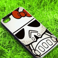 Hello Kitty Stormtrooper for iPhone 4, iPhone 5, Samsung S3 i9300, Samsung S4 i9500 Hot Edition