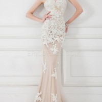 $ 136.49 Vintage Mermaid Sweetheart Full Length Lacey Evening Dress