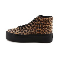 Vans SK8 Hi Platform Shoe, LeopardBlack  Journeys Shoes