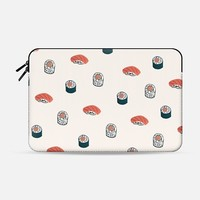 Sushi Macbook 12 sleeve by Sara Combs | Casetify