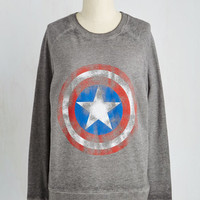 Nifty Nerd Mid-length Long Sleeve Sweatshirt Hey Hi Hero Sweatshirt