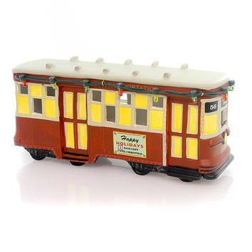 Department 56 Accessory A Christmas Story Streetcar Village Lighted Accessory