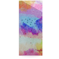 "Iris Lehnhardt ""Summer Pastels"" Multicolor Painting Luxe Rectangle Panel"