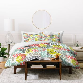 Heather Dutton Undertow Coral Duvet Cover