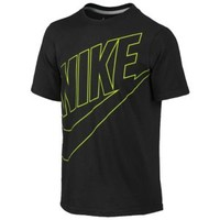 Nike Futura S/S T-Shirt - Boys' Grade School at Kids Foot Locker