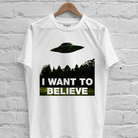 The X-Files I Want To Believe T-shirt Men, Women Youth and Toddler