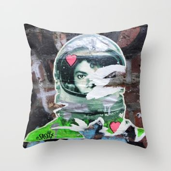 Layers 9 Throw Pillow by EXIST NYC