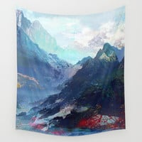 Untitled 20130913a (Landscape) Wall Tapestry by Tchmo