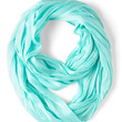 ModCloth Minimal Brighten Up Circle Scarf in Sky