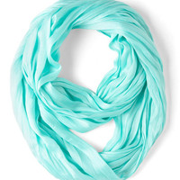 Minimal Brighten Up Circle Scarf in Sky by ModCloth