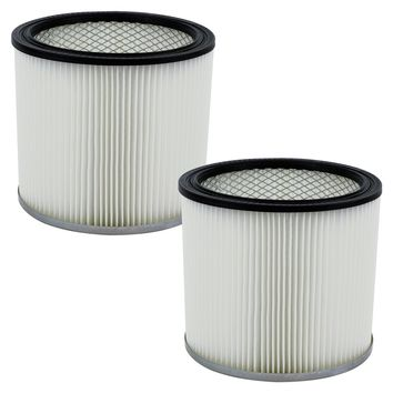 2 Pack Shop-Vac 90304 9030400 Cartridge Filter Replacement Type U fits Wet & Dry Vacs