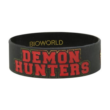 Supernatural Demon Hunters Rubber Bracelet