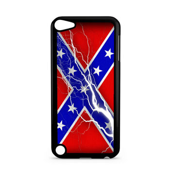 Confederate Rebel Flag Thunder Ipod Touch 5 Case