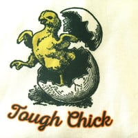 Tough Chick T-Shirt for Women, HandmadeTees made with Tough Love, Women Clothing