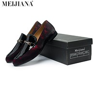 Handmade leather Men Design Soft leather Shoes Men
