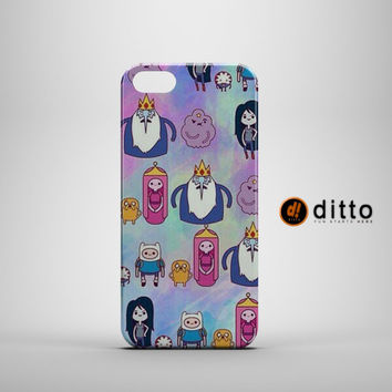 ADVENTURE TIME Design Custom Case by ditto! for iPhone 6 6 Plus iPhone 5 5s 5c iPhone 4 4s Samsung Galaxy s3 s4 & s5 and Note 2 3 4