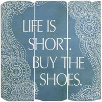 Buy the Shoes Wall Decor