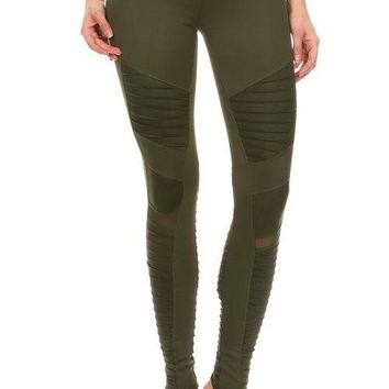 LA Society Thicker Moto Leggings