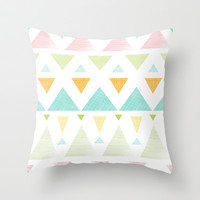 Try An Angle Throw Pillow by The Cathouse