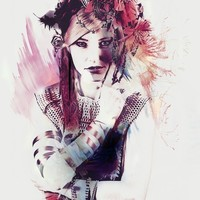 """""""Rouge"""" - Art Print by Galen Valle"""
