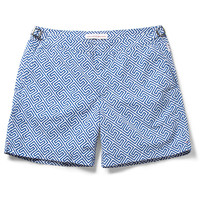 Orlebar Brown - Bulldog Mid-Length Printed Swim Shorts | MR PORTER