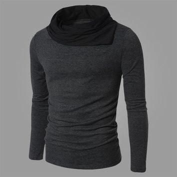 Men's Sweaters Pullover knit Casual Sleeve Pile Collar Pullovers