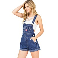 Retrospect Denim Shortalls