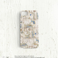 Map iPhone 5 case - Map iPhone 4 case, iPhone 4s case, High quality 3D printing, old map, iphone4 case, iphone5 case Vintage world map /c49