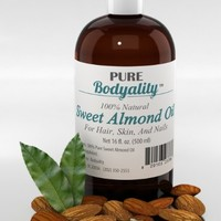100% Pure Sweet Almond Oil 16oz - Car...