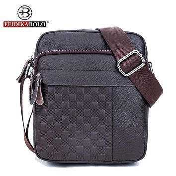 Messenger Bag Men Genuine Leather Shoulder Bag Man Satchels Handbags Sling Bags designer Men Cross body Bags
