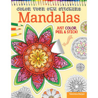 Color Your Own Mandala Stickers Book