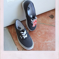 VANS Authentic- Pewter/Black