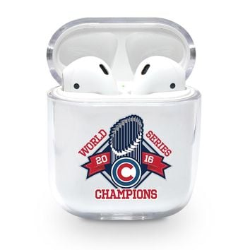Cubs World Series Champions Airpods Case