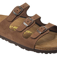 Birkenstock Florida Sandals - Three Strap Sandal in Black or Cocoa