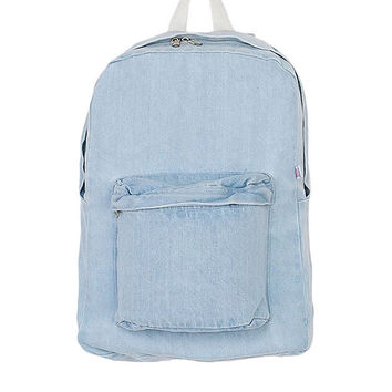 Denim School Bag | American Apparel