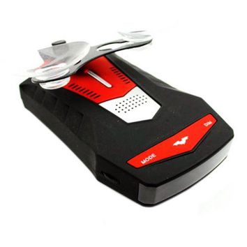 V6 Car 16 Band Car Radar Detector Speed   Russian