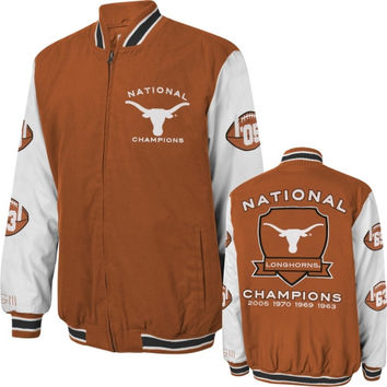Texas Longhorns Burnt Orange Hall of Fame Commemorative Jacket