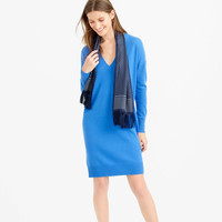 PRE-ORDER COLLECTION ITALIAN CASHMERE V-NECK DRESS