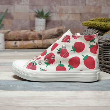 bc2e12a19188 Converse Sport Chuck Taylor 70s High Top Strawberry Print - Best Deal Online