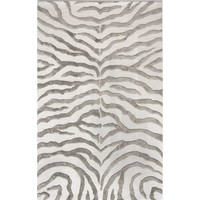 Dodgson Hand-Tufted Gray/Ivory Area Rug