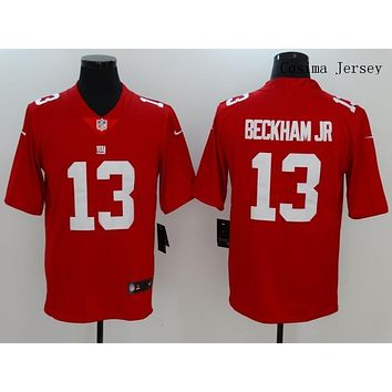 Danny Online Nike NFL Jersey Men's Vapor Untouchable Color Rush New York Giants #13 Odell Beckham Jr. Football Jersey Red